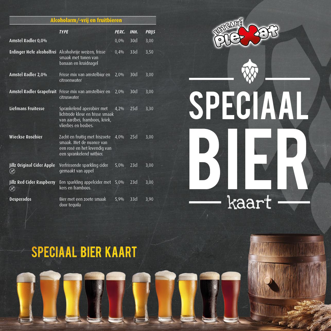 Plexat Bierkaart 2016